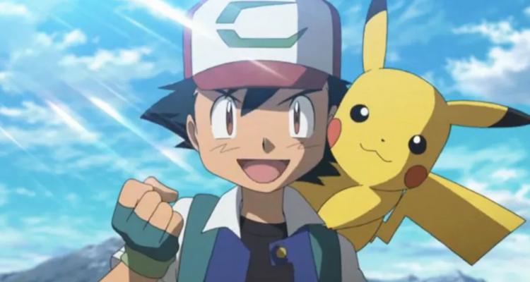 Cover for blog 'The 16 personality types as Pokemon' showing Pikachu and Ash