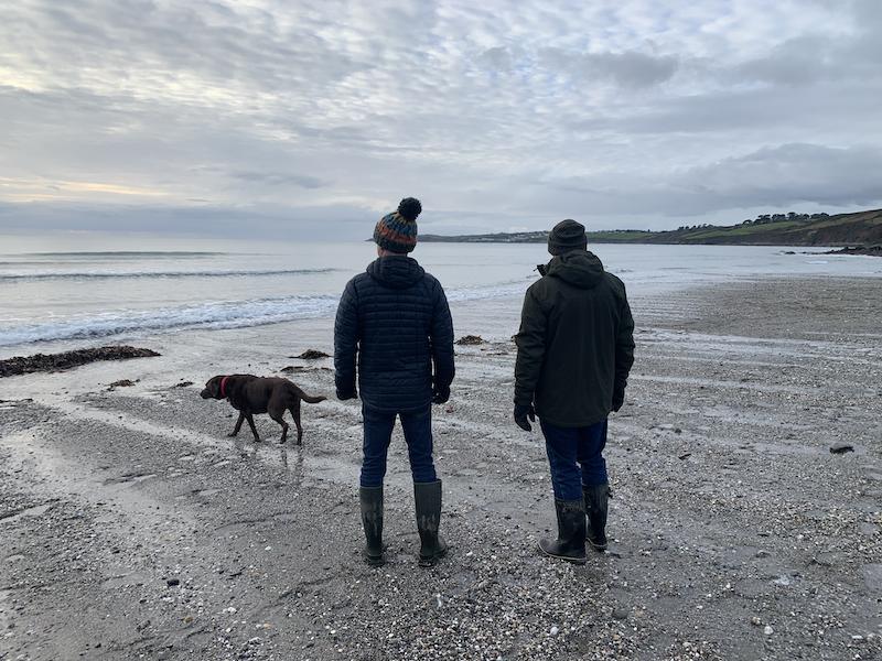 ISFJ ISTP relationship: Peter, Robert and Bella in Cornwall