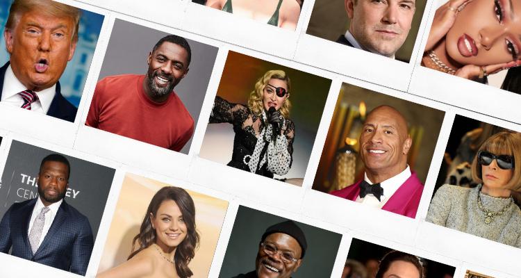 15 famous ESTPS: Madonna, Mila Kunis, Idris Elba, 50 Cent, Donald Trump
