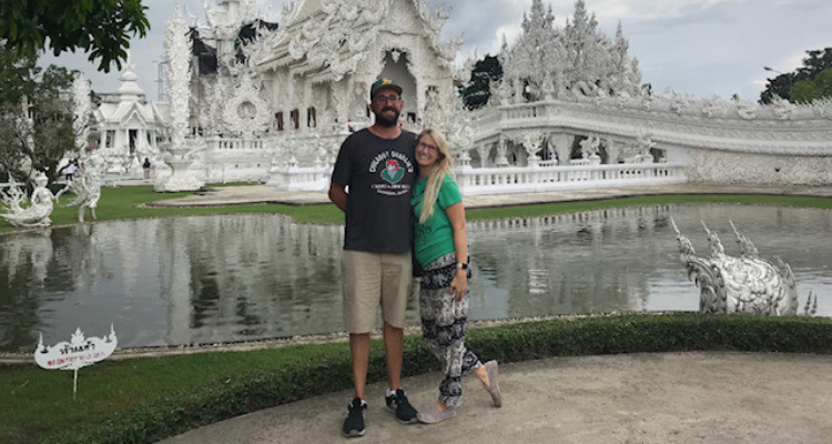 ENFJ INTP Relationship: Brandon and Ellen in Cambodia