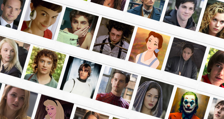 Fictional characters with the INFP personality type