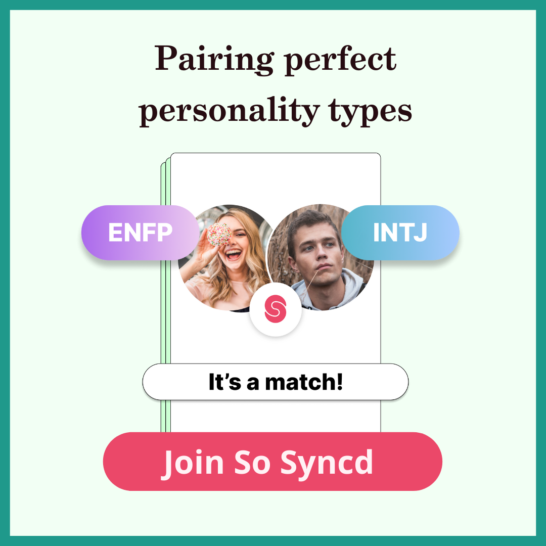 ENFP - INTJ couple in a phone